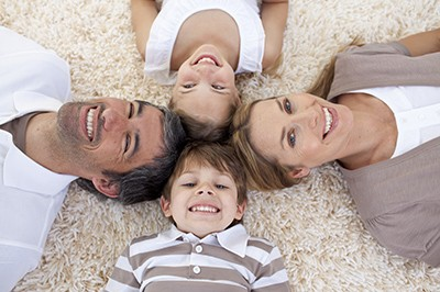 Family on carpet | Floorscapes