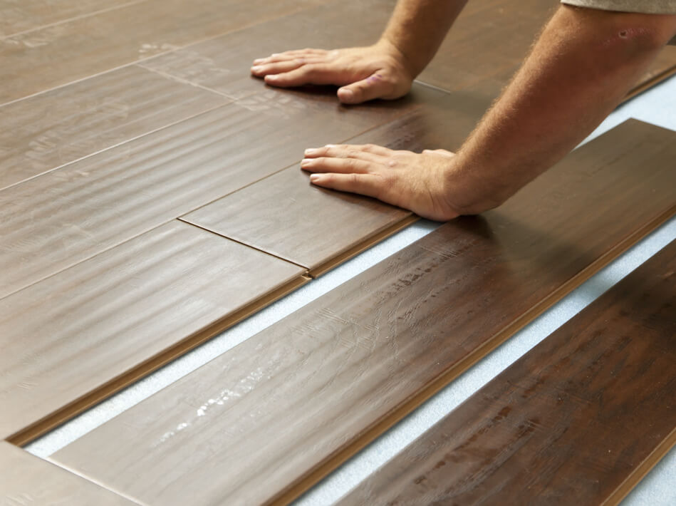 Laminate installation | Floorscapes