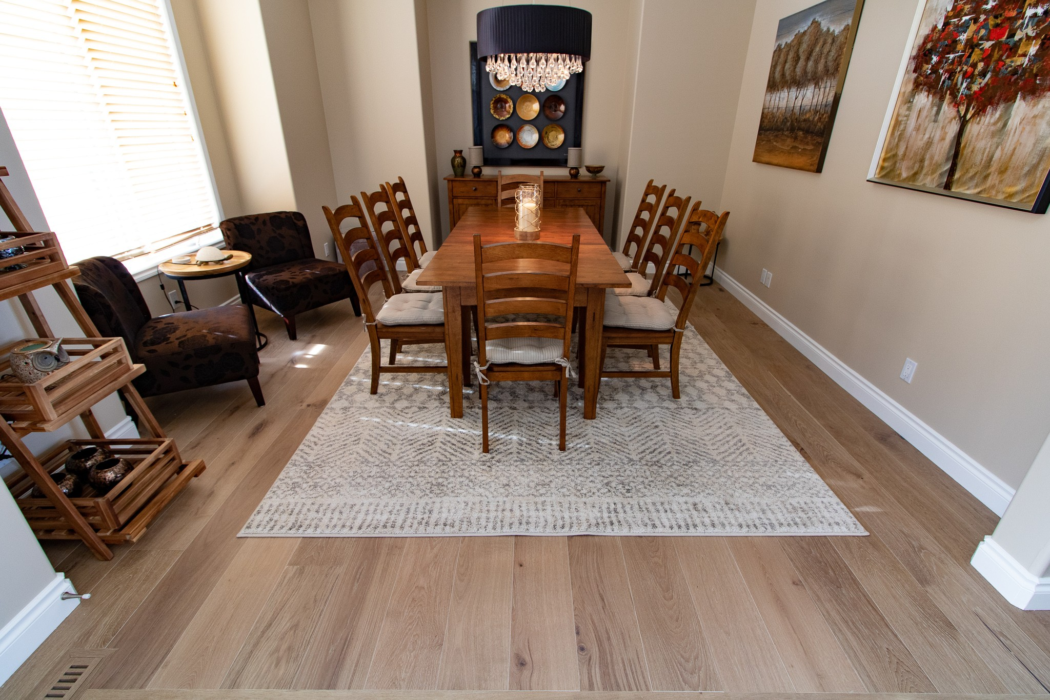 Dining room flooring | Floorscapes