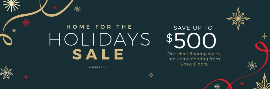 Home for the Holidays Sale | Floorscapes