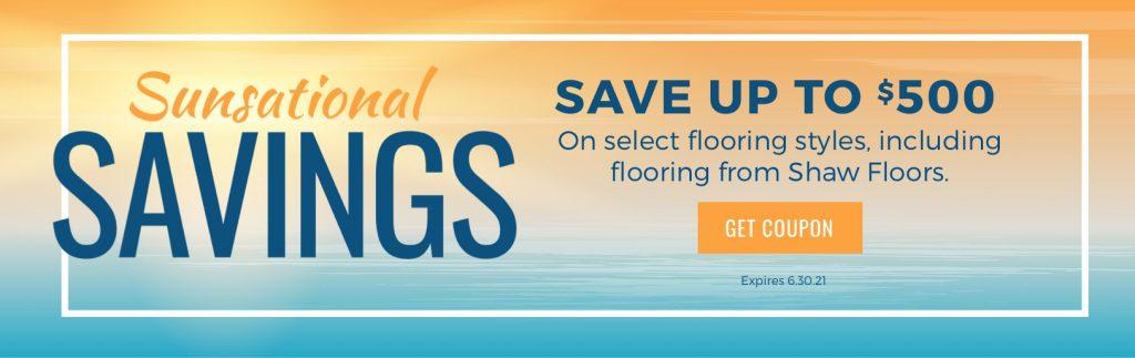 Sunsational Savings Sale | Floorscapes