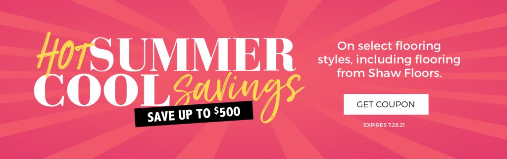 Hot Summer, Cool Savings | Floorscapes